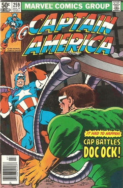 CAPTAIN AMERICA #259 (NEWSSTAND EDITION)