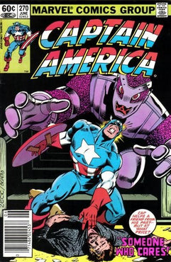 CAPTAIN AMERICA #270 (NEWSSTAND EDITION)