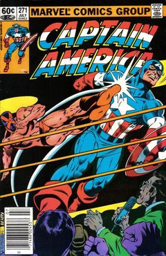 CAPTAIN AMERICA #271 (NEWSSTAND EDITION)
