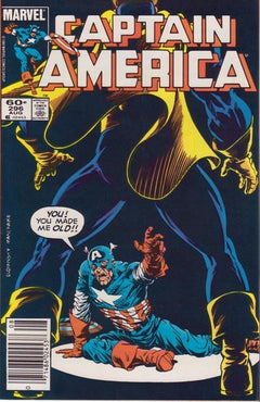 CAPTAIN AMERICA #296 (NEWSSTAND EDITION)