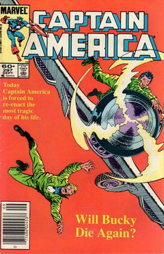 CAPTAIN AMERICA #297 (NEWSSTAND EDITION)