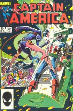 CAPTAIN AMERICA #301 (DIRECT EDITION)