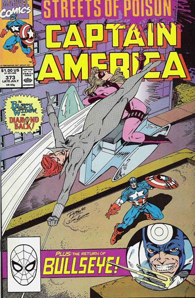 CAPTAIN AMERICA #373 (DIRECT EDITION)