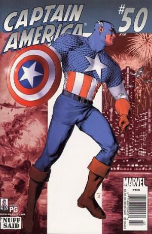 CAPTAIN AMERICA (2002) #50 (DIRECT EDITION)