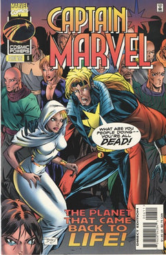 CAPTAIN MARVEL (1995) #6