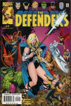 DEFENDERS (2001) #2 ALTERNATE COVER