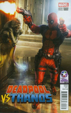 DEADPOOL VS. THANOS #2 RETAILER SUMMIT 2015 EXCLUSIVE