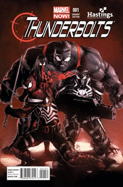 THUNDERBOLTS (2013) #1 HASTINGS EXCLUSIVE