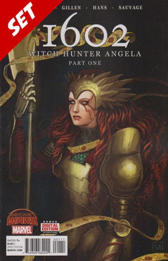 1602: WITCH HUNTER ANGELA #1-4 SET