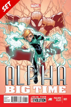 ALPHA BIG TIME #1-5 SET