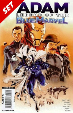 ADAM LEGEND OF THE BLUE MARVEL #2-5 SET