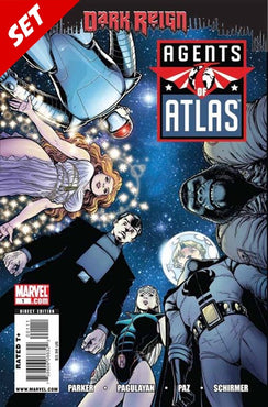 AGENTS OF ATLAS (2009) #1-3 SET