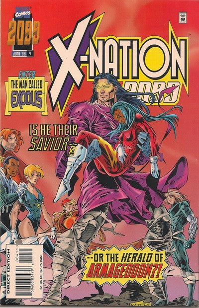 X-NATION 2099 #1-6 SET