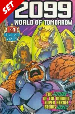 2099 WORLD OF TOMORROW #1-6 SET