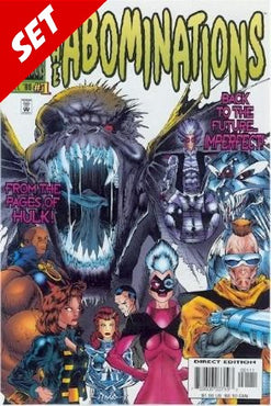 THE ABOMINATION #1-3 SET