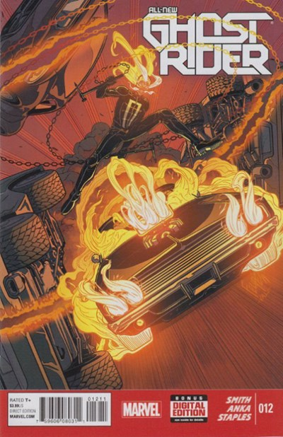 ALL-NEW GHOST RIDER #2-12 SET