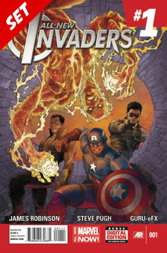 ALL-NEW INVADERS #1-8 SET
