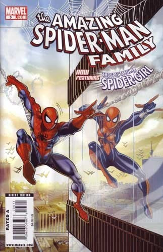 AMAZING SPIDER-MAN FAMILY #1-8 SET