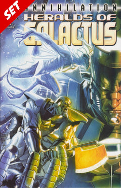 ANNIHILATION HERALDS OF GALACTUS #1-2 SET