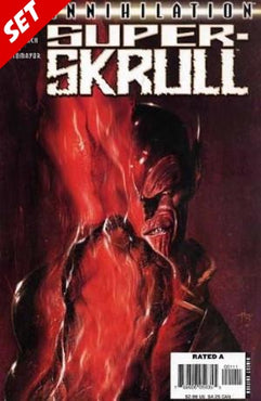 ANNIHILATION SUPER SKRULL #1-4 SET