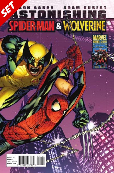 ASTONISHING SPIDER-MAN & WOLVERINE #1-6 SET