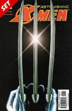 ASTONISHING X-MEN (2004) #1-6 + #17 VARIANT (#3, #5 SIGNED BY JOHN CASSADY) SET