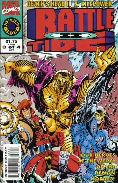 BATTLE TIDE II #1-4 SET