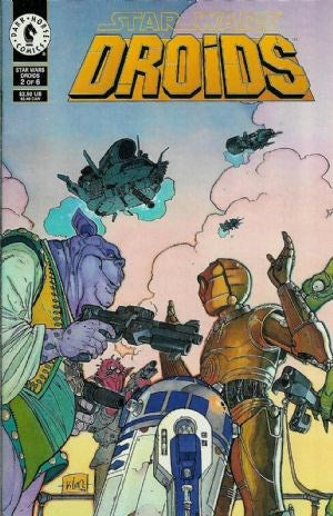 STAR WARS: DROIDS (1994) #1-6 SET