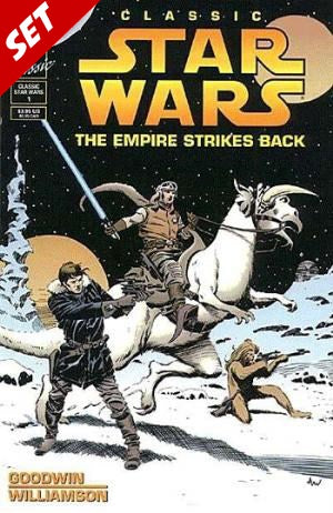 CLASSIC STAR WARS: THE EMPIRE STRIKES BACK #1-2 SET