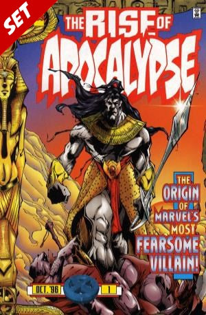 THE RISE OF APOCALYPSE #1-4 SET