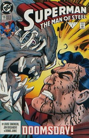 DEATH OF SUPERMAN (8 ISSUES) SET