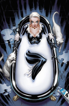 BLACK CAT #1 J SCOTT CAMPBELL VIRGIN MILK TUB EXCLUSIVE 1000