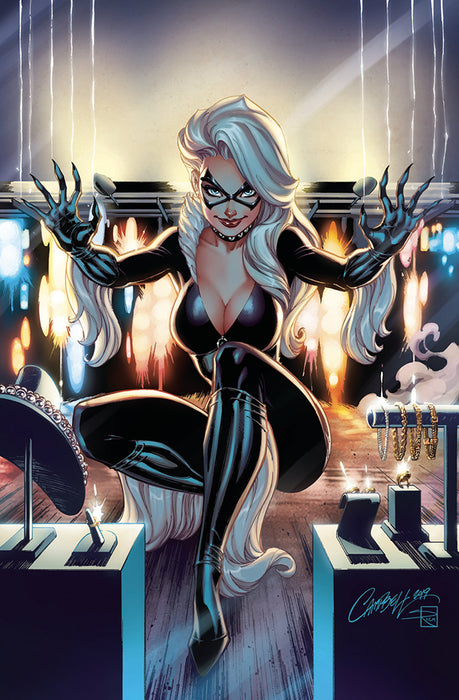 BLACK CAT #1 J SCOTT CAMPBELL VIRGIN 1 IN 500 INCENTIVE