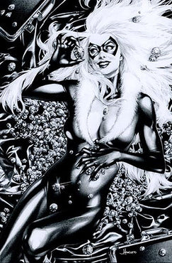 BLACK CAT #1 JAY ANACLETO VIRGIN SKETCH VAR