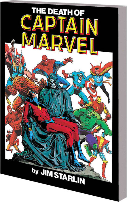 DEATH OF CAPTAIN MARVEL TP