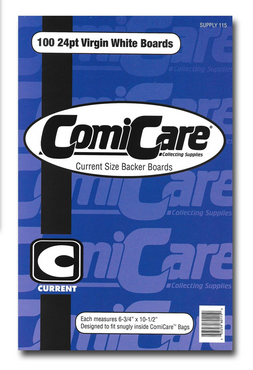 115 Comicare Current Size Backer Boards 100ct