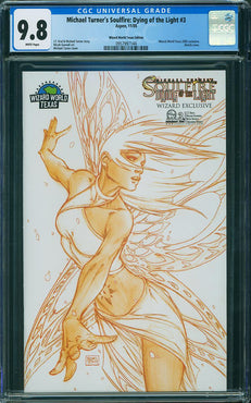 SOULFIRE: DYING OF THE LIGHT #3 WIZARD WORLD EXCLUSIVE CGC 9.8