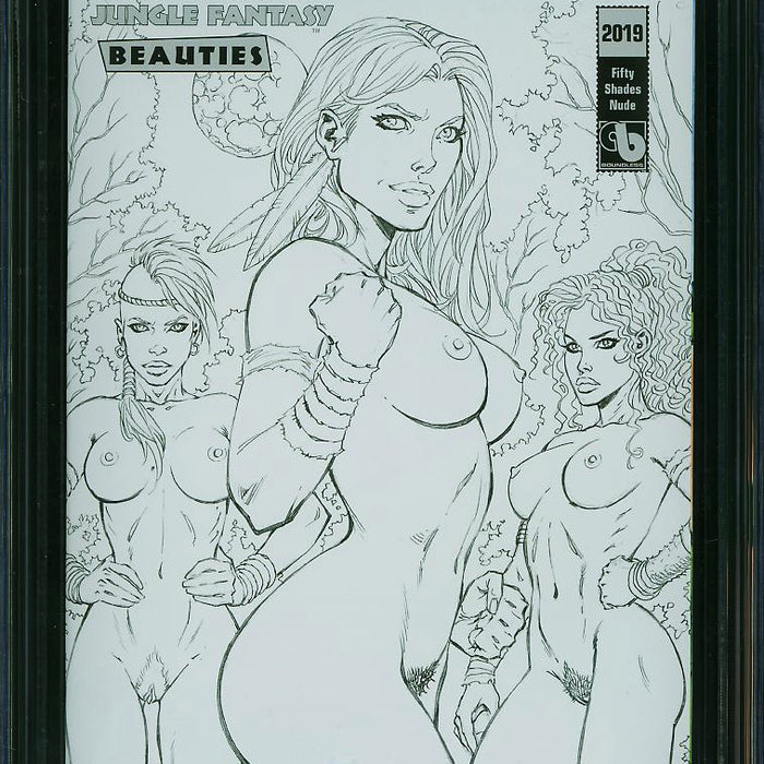 JUNGLE FANTASY: BEAUTIES 2019 50 SHADES NUDE EDITION CGC 9.8