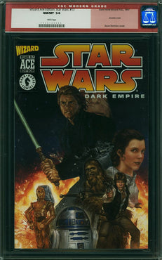 STAR WARS DARK EMPIRE #1 WIZARD ACE EDITION CGC 9.8