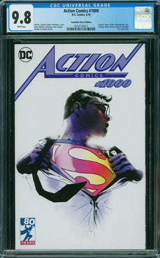 ACTION COMICS #1000 JOCK VARIANT CGC 9.8