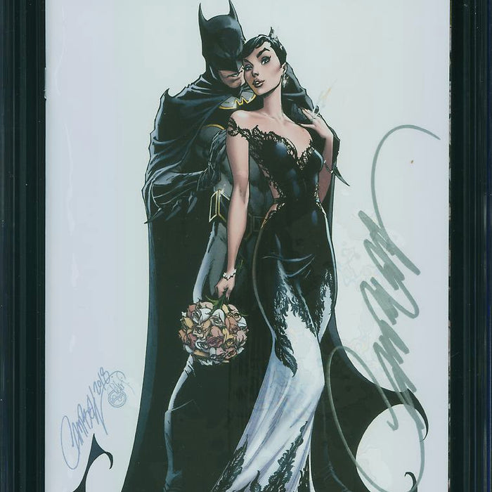 BATMAN #50 CAMPBELL VIP VARIANT SIGNED CGC 9.8