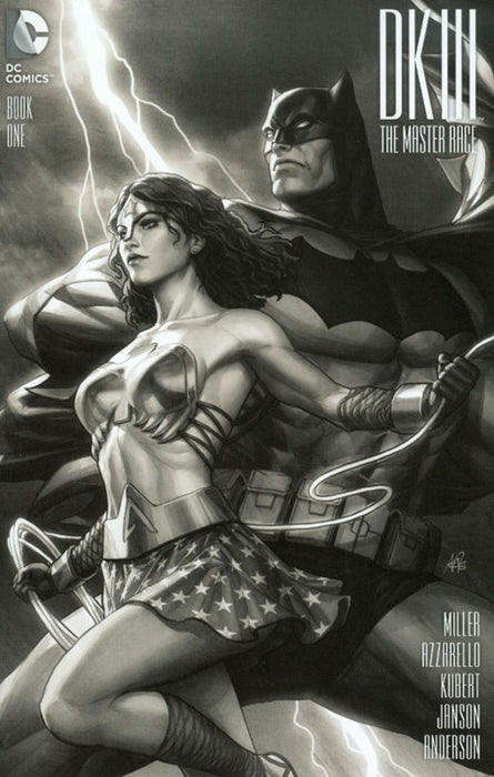 DARK KNIGHT III: THE MASTER RACE #1 ARTGERM GREYSCALE VARIANT