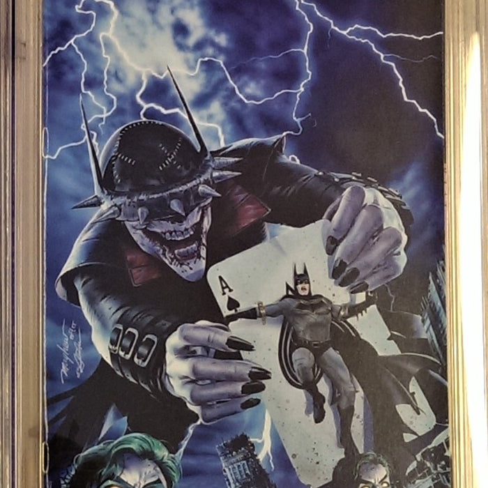 BATMAN WHO LAUGHS #1 COMIC MINT CVR B CGC 9.8