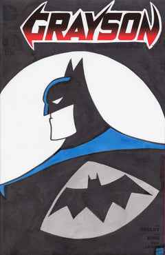 Batman Original Art by Gary Parkin
