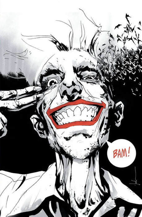 THE JOKER: YEAR OF THE VILLAIN #1 FORBIDDEN PLANET B&W VIRGIN