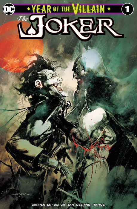 THE JOKER: YEAR OF THE VILLAIN #1 SAYGER CVR A