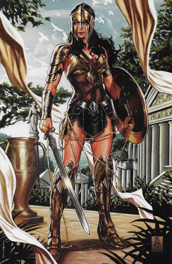 JUSTICE LEAGUE #1 (2018) MARK BROOKS VIRGIN ARMOR VARIANT