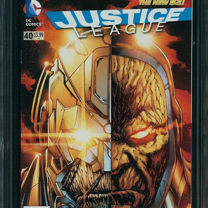 JUSTICE LEAGUE #40 (N52) CGC 9.8