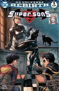 SUPER SONS #1 UNKNOWN COMIC BOOKS EXCLUSIVE CATWOMAN