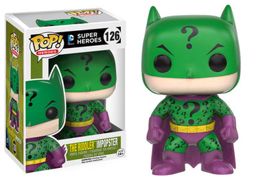 Funko POP! DC Batman Imposter the Riddler Variant